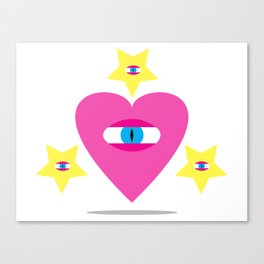 Eye Heart You. Canvas Print