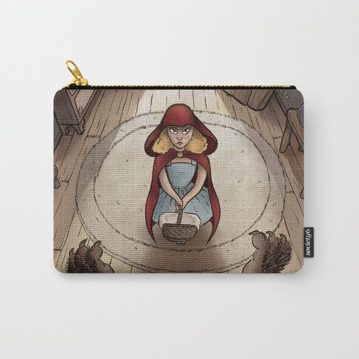 Little Red Hood Carry-All Pouch