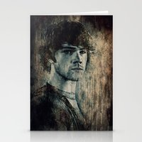 winchester Stationery Cards featuring Sam Winchester by Sirenphotos