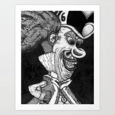 Mad Hatter HiDef Art Print