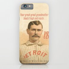 High & Inside -- The Detroit Wolverines iPhone 6s Slim Case