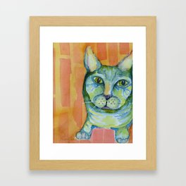 Cleo Gone Wild Framed Art Print