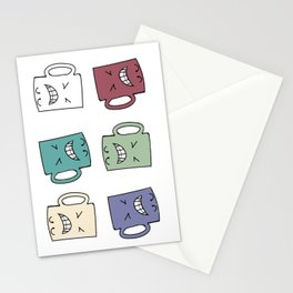 Yes Coffee - No Coffee Stationery Cards