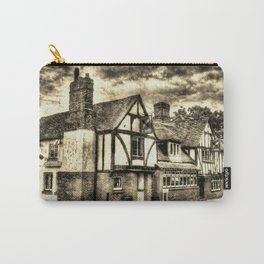 The Cross Keys Pub vintage Carry-All Pouch