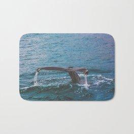 Whale Tail Bath Mat