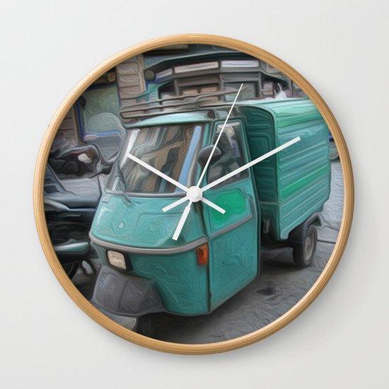 Tri motor Wall Clock