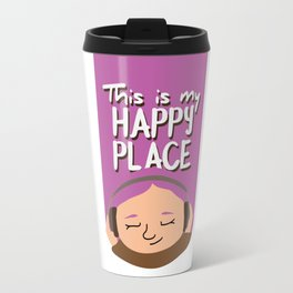 This is my happy place - Music Travel Mug