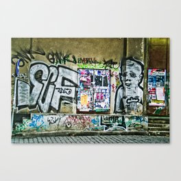 Prague Graffiti #2 Canvas Print