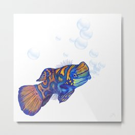 Fish / Pez Metal Print