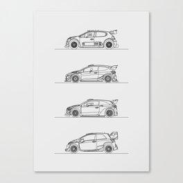 WRC 2017 Canvas Print