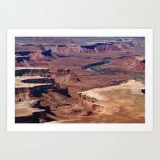 Green River Art Print