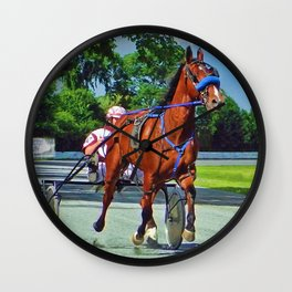 The Backstretch Wall Clock