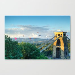 Adrift Over Bristol Canvas Print