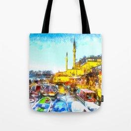 Istanbul Art Tote Bag