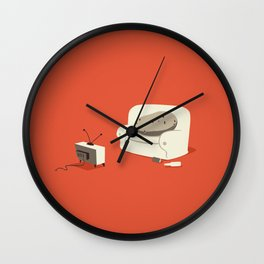 Couch Potato Wall Clock