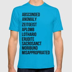 Zachary Quinto and Chris Pine want to enrich YOUR vocabulary. LARGE Teal Mens Fitted Tee