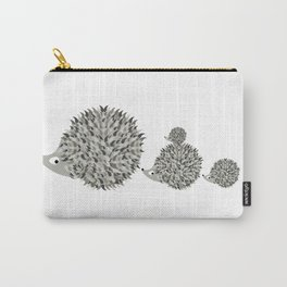 Hedgehogs family Carry-All Pouch