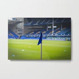 Corner flag Metal Print