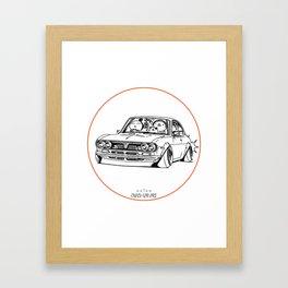 Crazy Car Art 0187 Framed Art Print