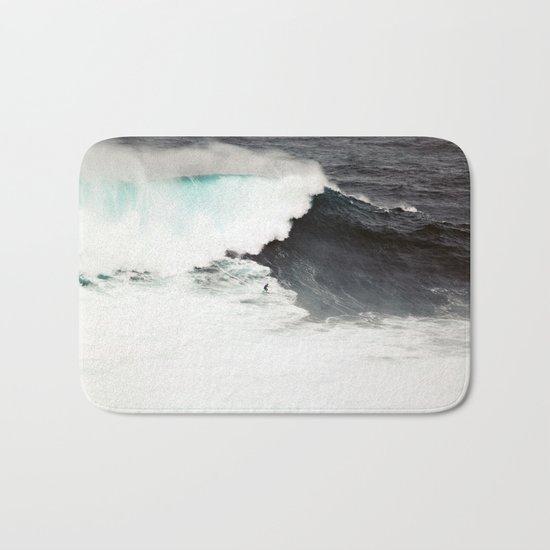 Surf wave sea 6 Bath Mat