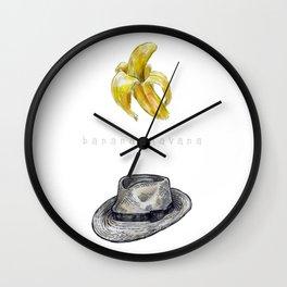Banana Havana Wall Clock