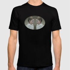 shared memories Black LARGE Mens Fitted Tee