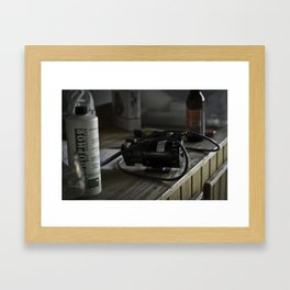 The Remains of the Brew Framed Art Print