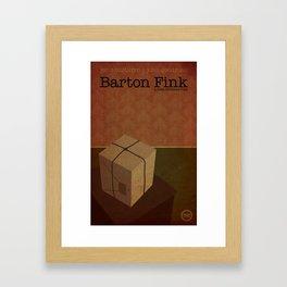 Film Friday No. 4, Barton Fink Framed Art Print