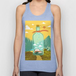 DREAM BOTTLE Unisex Tank Top