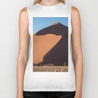 dune Biker Tanks featuring Sand Dune by Katie Jo Sheppard
