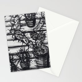 Cacti collection Stationery Cards