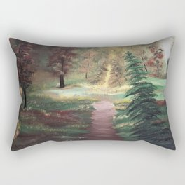 Warm Autumn day Rectangular Pillow