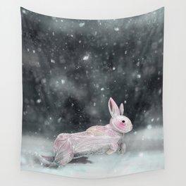 White Rabbit Wall Tapestry