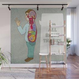 I'M ALLRIGHT Wall Mural
