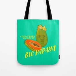 Big Papaya Tote Bag
