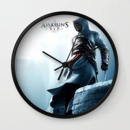 Assassin cr poster Wall Clock