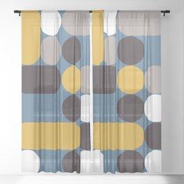 Domino 05 Sheer Curtain