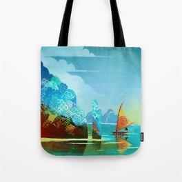 Moana lagoon Tote Bag