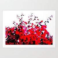 A Floral Dream Art Print