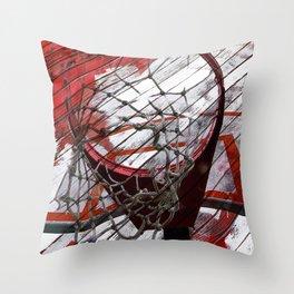 Basketball vs 82 Throw Pillow