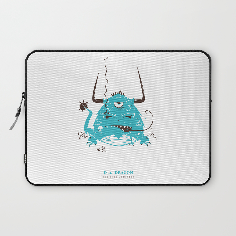 D Is For Dragon Laptop Sleeve LSV988449