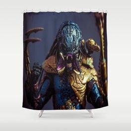 """NIGHTSTORM PREDATOR"" Shower Curtain"