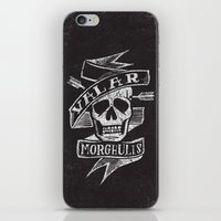 valar morghulis iPhone & iPod Skins featuring all men must die by Matthew Taylor Wilson