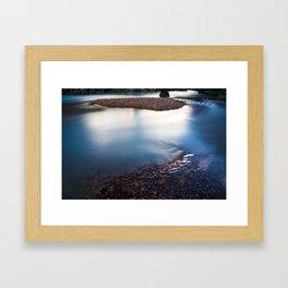 Ishinca Stillwater Framed Art Print
