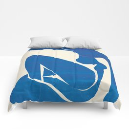 Blue Nude #1- Henri Matisse Comforters