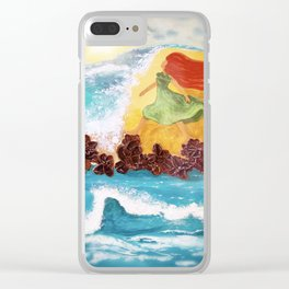 Silent Universe Clear iPhone Case