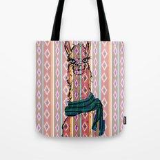 Llama Mix Tote Bag
