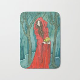 The Red Witch Bath Mat