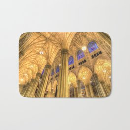 St Patrick's Cathedral Manhattan New York Bath Mat