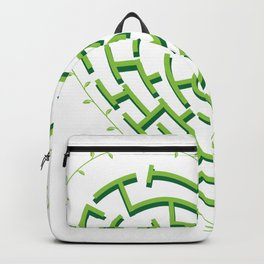 Lost in the Love Maze Backpack